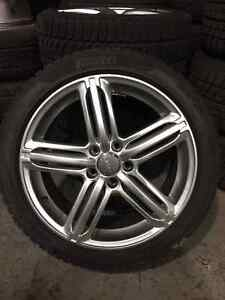 14+ Audi A4/S4 winter rims and tires