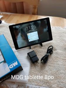 MDG tablette 8 po