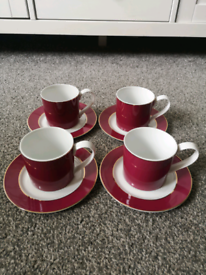 Pied a Terre Cup and Saucer Set