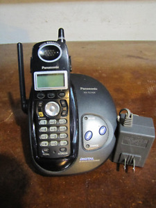 Panasonic cordless rechargable phone