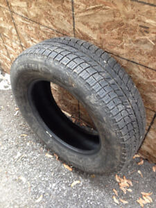 Basically brand new winter tires for sale (Michelin X-Ice)