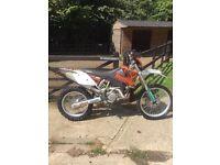 KTM 400 exc motor bike