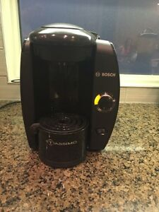 Tassimo pod coffee maker by Bosch