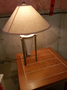Brand New Lamp with Stone Base