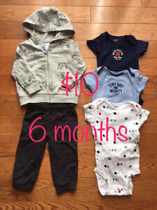 Baby Boy Clothes 6, 9, 12 months