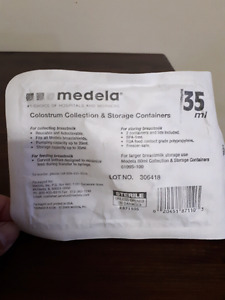 Brand New 2-pack Medela Colostrum Storage Containers