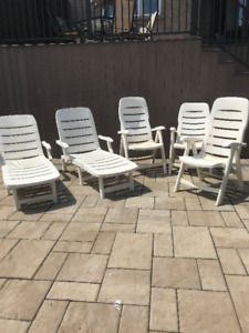 Patio Chairs Available