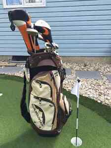 Jazz Womens RH Golf Clubs with Brand new Cart Bag