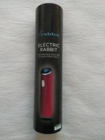 Electric Rabbit rechargable electric corkscrew