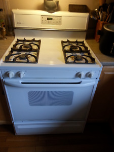 White Kenmore Gas Stove -used