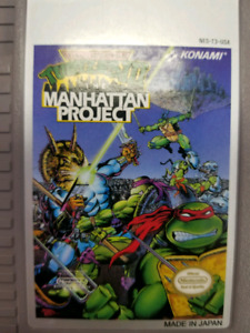 TMNT the Manhattan project