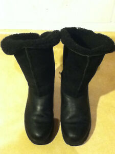 Women's Sorel Black Winter Boots Size 7.5 London Ontario image 3