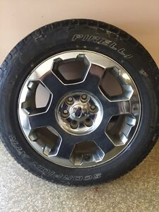 4 Ford Rims and Tires for sale