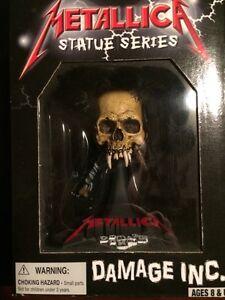 Metallica Statue collection Damage Inc.
