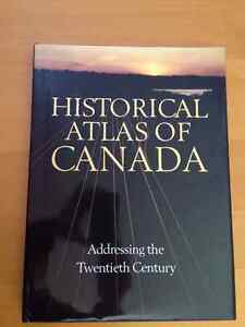 Historical Atlas of Canada 4 Volume Hardcover Set Kingston Kingston Area image 2