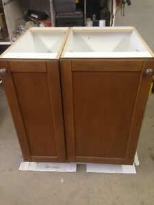 12'' and 18'' lower cupboard units