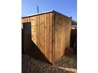 Garden shed / building materials