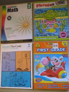 Workbooks Grade K to Grade 2