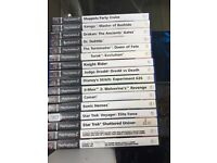 17 PlayStation 1 and 2 games plus some demo disks £10 for all