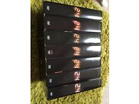 24 series 1-6 and 8 box sets DVD