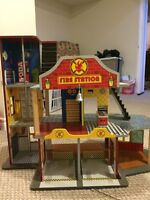 Fire station play station