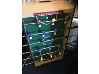 Table top football game.