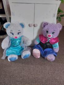 Build a bear set including wardrobe