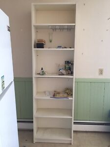 Bookcase and Dresser