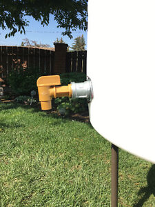 Rain WATER BARREL With SPIGOT / TAP