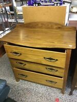 Chest of drawers $95