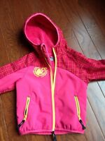 McKinley windproof toddler girls jacket 3T
