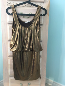 Gold Dress, Size Small
