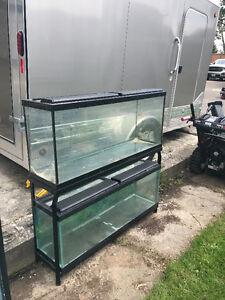 Fish Tanks  55...45...30...20...10...7  Gallon Aquaruims