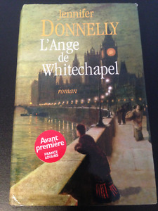 Livre Jennifer Donnelly L'Ange de Whitechapel