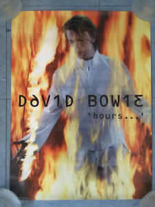 """DAVID BOWIE """"Hours"""" Promotional Poster (1999)"""