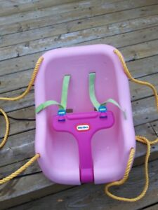 baby swing and sleigh