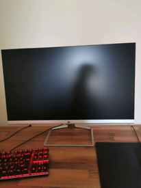 HP 27fw 27 inch full HD monitor