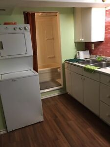 $350weekly furnished 2bdms basement suite Wifi&TV&All utilities
