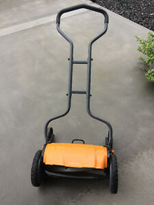 Rotary Push mower and fertilizer spreader