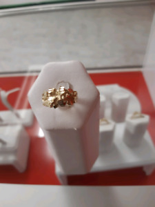 10k gold nugget ring