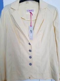 M/&S Ladies Indigo collection Denim Jacket Size 12 Bnwt Free Same day Postage £35