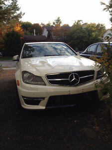 2013 Mercedes-Benz Weistec supercharged C63 AMG low mileage !