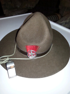 Collectable Official  Boy Scout Troop Leader Hat