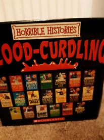 Horrible Histories 20 books box set (new)