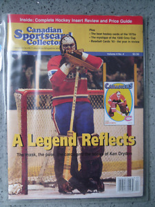 Canadian Sportscard Collector Magazines.