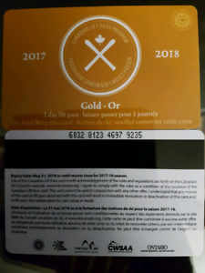 2 ski passes Canadian ski pass program