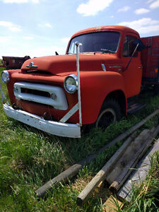 1951 International two and a half ton Rat Rod project Prudential