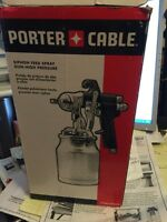 Canister for porter Cable siphon feed spray gun