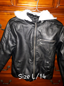 Boys M/G/XL Fall/Winter Clothes including Jackets, Hoodies, etc!