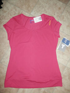 Bag of brand new active wear tops and bottoms (all still w/tags)